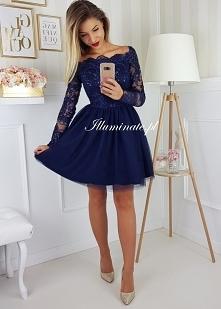 Przepiękna sukienka z odkrytymi ramionami z kolekcji Illuminate <3