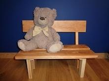 Własnoręcznie wykonana ławe...