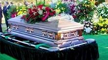 Szokujący pogrzeb
