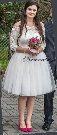 """Sukienka """"Grace"""" od Baronetki :) I nasza zadowolona klientka :)"""