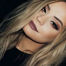 Makijaż jesienny :)