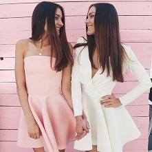 Różowa czy biała? Sukienki ...