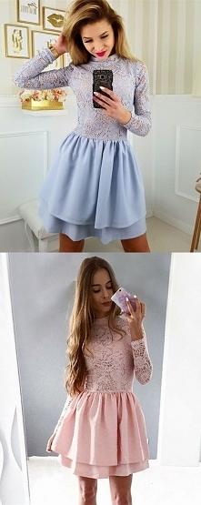 Błękitna czy różowa? Podobne TU ➡️  najlepszesukienki.pl