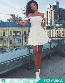 trampeczki i w biel