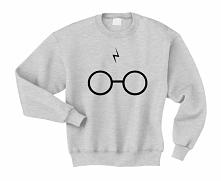Bluza BLIZNA I OKULARY - bluza z okularami i blizną dla potterheads. Modna fandomowa bluza młodzieżowa - bluza damska i bluza męska. Fajna blogerska bluza młodzieżowa - świetny ...
