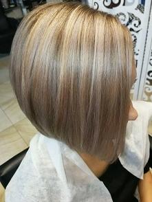 Teraz taka fryzura;) troszkę zmian;)