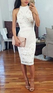 Biała sukienka na studniówkę TAK czy NIE? Podobne TU ➡️ najlepszesukienki.pl