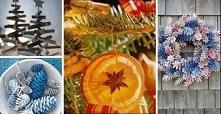 Boskie dekoracje, które zrobisz sama z szyszek, pomarańczy i gałązek