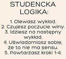 Studencka logika :D