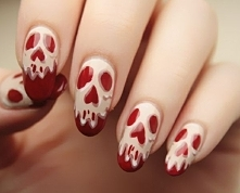 Halloween nails style :D