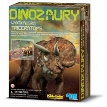 Szkielet Triceratopsa do sa...