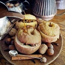 Pieczone jabłka z bakaliami...