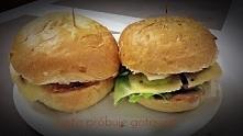 Domowe burgery ! Pyszne i w...