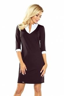 Czarna sukienka z biznesowy...