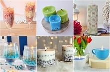 9 pomysłów na świeczki diy, candle diy