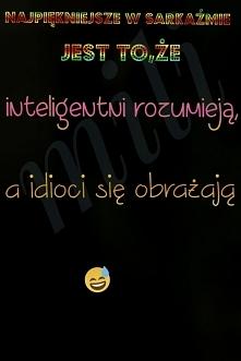 sarkazm; )