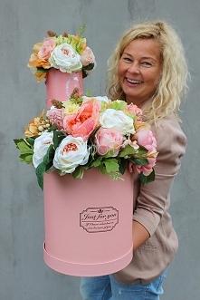 boxy z kwiatami od tendom