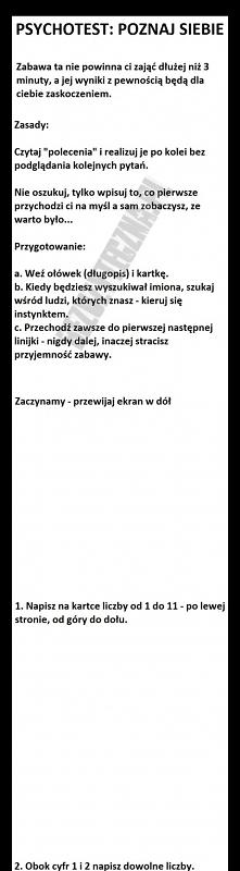 Psychotest: poznaj siebie! ...