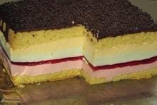 Ciasto Tęczowy obłoczek