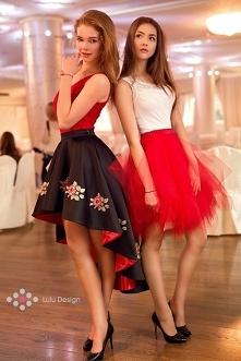 Spódnice i bluzki Lulu Design. Spódnica asymetryczna, haftowana Bella z możli...