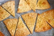 Jak zrobić pieczone chipsy z tortilli kukurydzianej?
