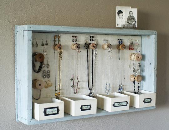 Spodobał Mi Się Ten Pomysł Na Przechowywanie Biżuterii A Wam Na