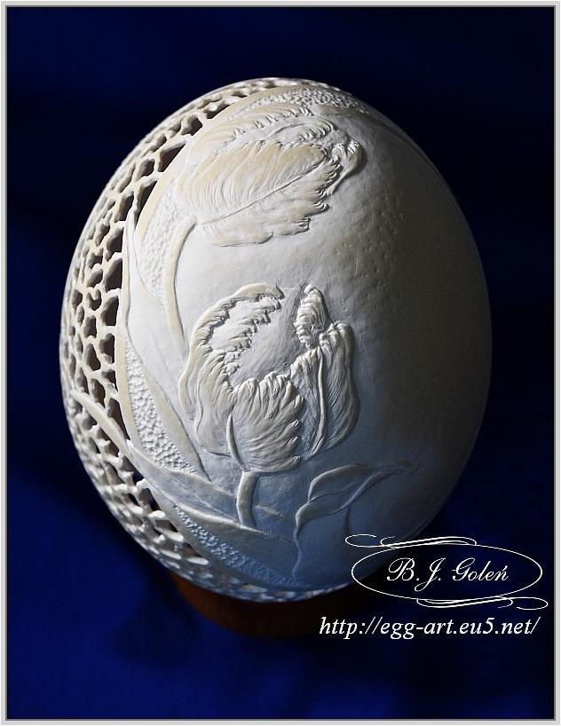 Egg art- Bogusława Justyna Goleń