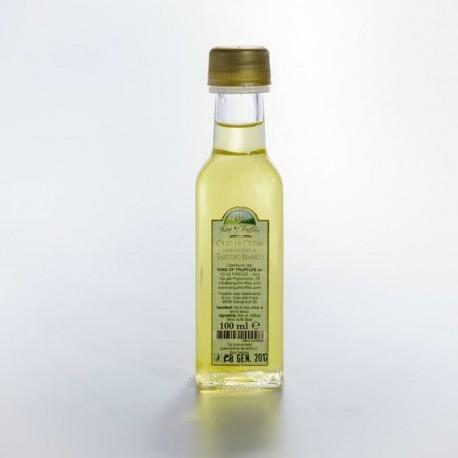Oliwa z oliwek aromatyzowana białymi truflami. Oliwa ta jest odpowiednim dodatkiem do wszelkich sezonowych mięs, warzyw i farszów.