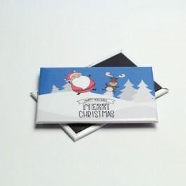 Magnesy Świąteczne na prezent - różne wzory
