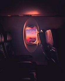 Za takie właśnie widoki uwielbiamy podróże samolotem <3