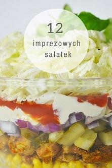 12 przepisów na sałatki