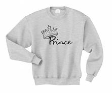 Bluza męska z napisem PRINC...