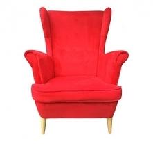 fotel USZAK RETRO w modnym czerwonym kolorze w super cenie - teraz tylko 750 ...