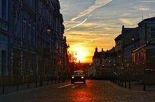 Wczorajszy zachód słońca Ta...