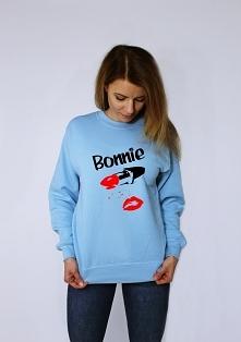 Bluza z nadrukiem BONNIE - ...