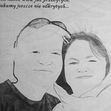 Portret CD #prezent #wood #pirography #rocznicaslubu #rocznica #maried #anniversary #handmade #gift #weddinganniversary