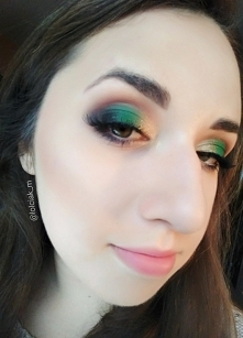 Zielony glam
