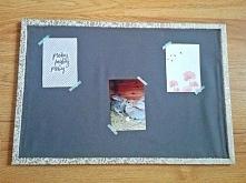 tablica dekoracyjna - dekoracje do domu, dekoracje ślubne może posłużyć jako tablica do planu stołów