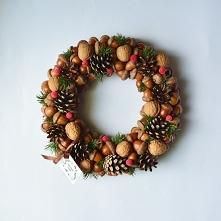 Wianek świąteczny, znajdziecie na zielonamieta. dawanda.com
