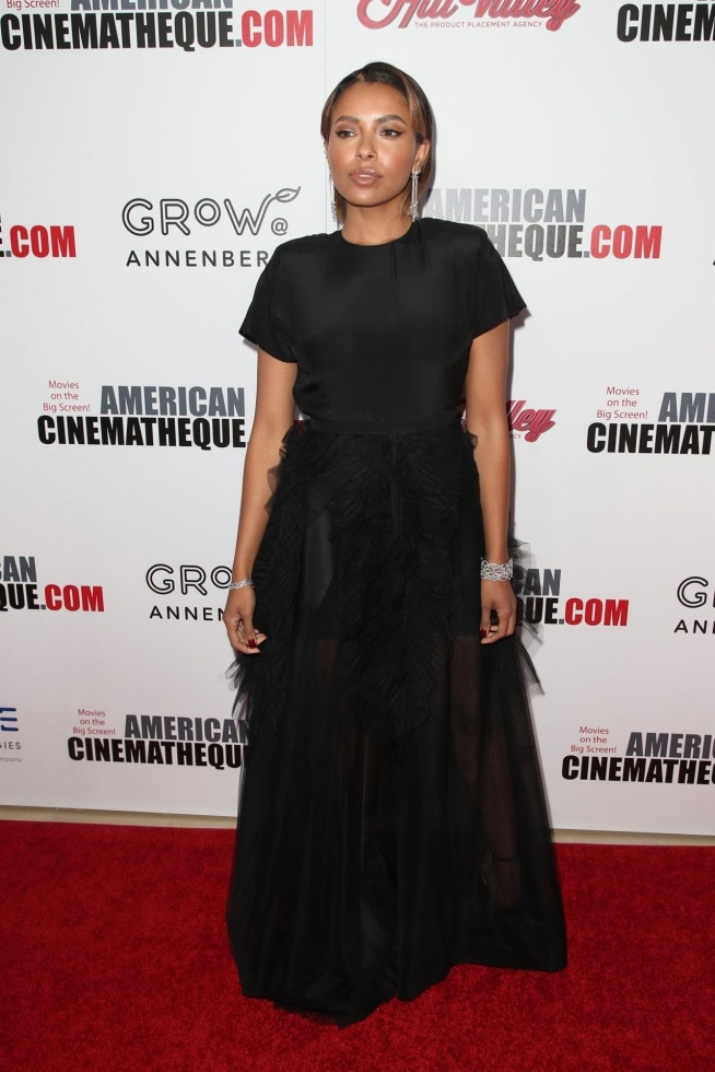Kat Graham – American Cinematheque Award 2017 in Beverly Hills
