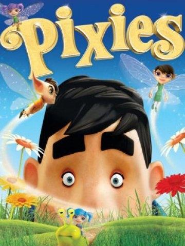 Pixies (2015)  Od setek lat w niewielkim ogródku żyją małe magiczne stworzenia. Ich spokojne życie zmienia się, gdy do domu obok wprowadza się bałaganiarz Joe Back. Maleńkie skrzaty wypowiadają mu... wojnę.