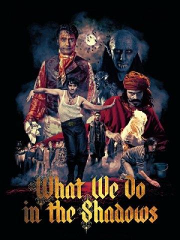 Co robimy w ukryciu / What We Do in the Shadows (2014)  Viago, Deacon i Vladislav usiłują normalnie egzystować, mimo że są nieśmiertelnymi parusetletnimi wampirami, które żywią się ludzką krwią. Horror z poczuciem humoru. Polecamy: allbox.tv