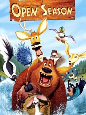 Sezon na misia / Open Season (2006)  Żyjący w mieście niedźwiedź Boguś zostaje wysłany do lasu.  Przyjemna komedia przygodowa, obejrzyj ją u nas: allbox.tv