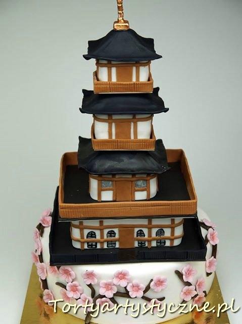 Tort w stylu japońskim
