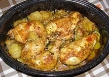 pieczony kurczak w party dip meksykański z warzywami...