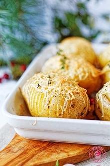 Kartofle hasselback po góralsku - Wypieki Beaty