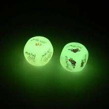 Kości Miłości Świecące w ciemności Gra dla Dwojga Zakochanych Doskonały Prezent Świąteczny, na Mikołajki ! <3 SmartGift.pl