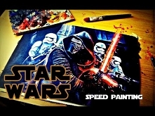 STAR WARS [Kylo Ren] - Speed painting | The last Jedi |