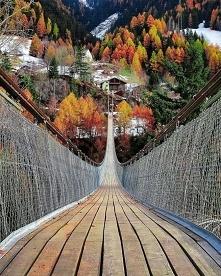 Most Goms w Szwajcarii.