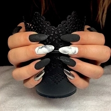 Black and marble